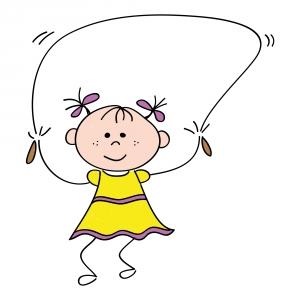 cartoon-jump-rope-girl