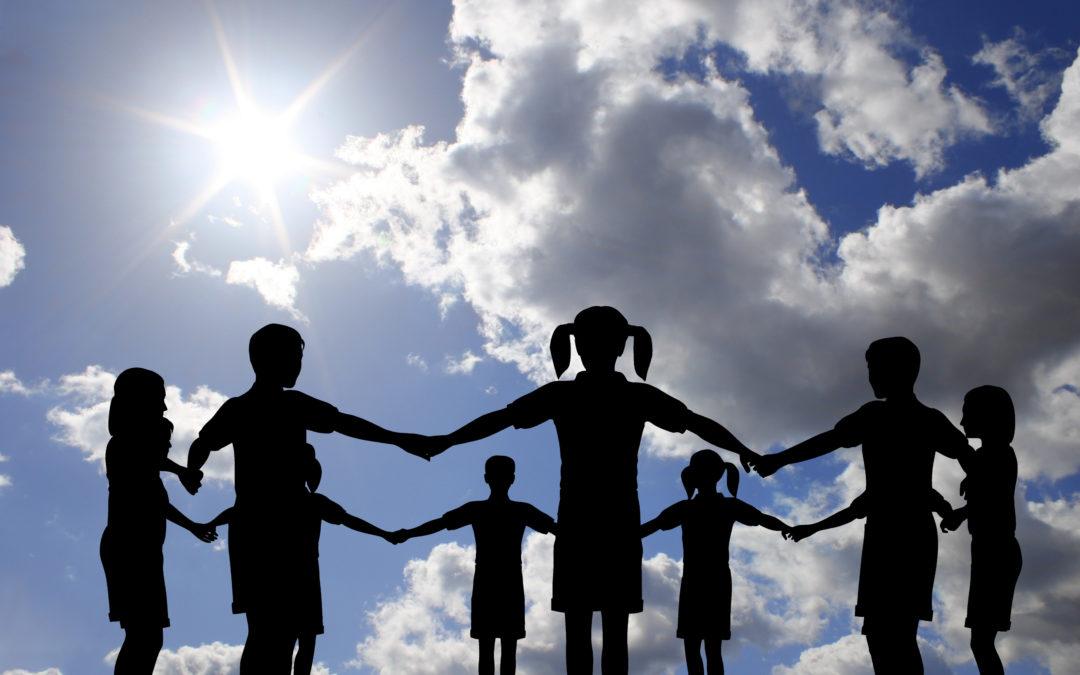 Kids Teamwork Hands